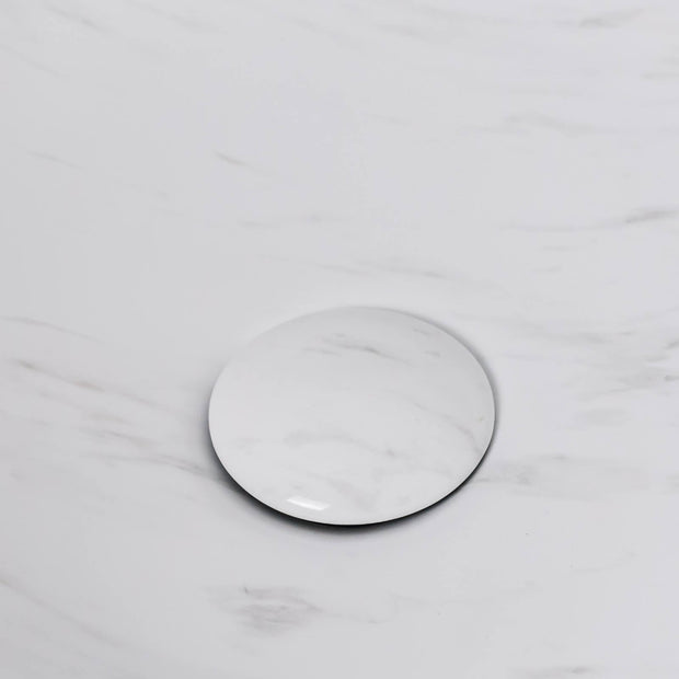 Santorini Above Counter Basin Calacatta White Marble
