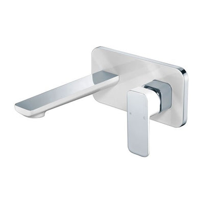 ikon SETO Wall Basin Mixer With Spout