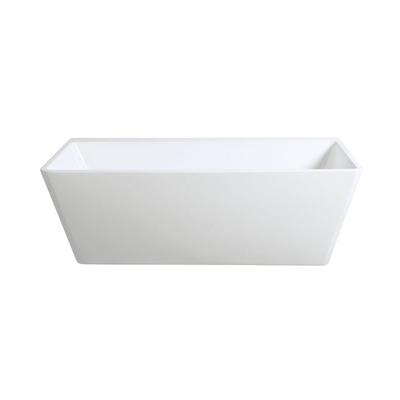 Azzura Back to Wall Freestanding Bath