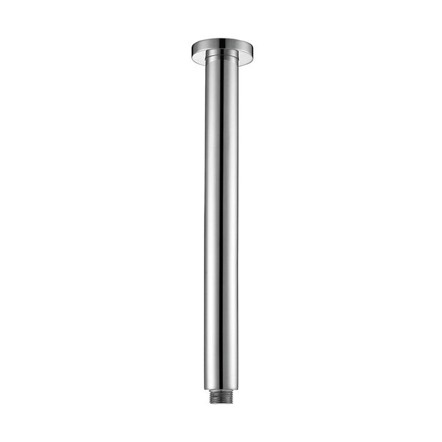 Round Vertical Shower Arm