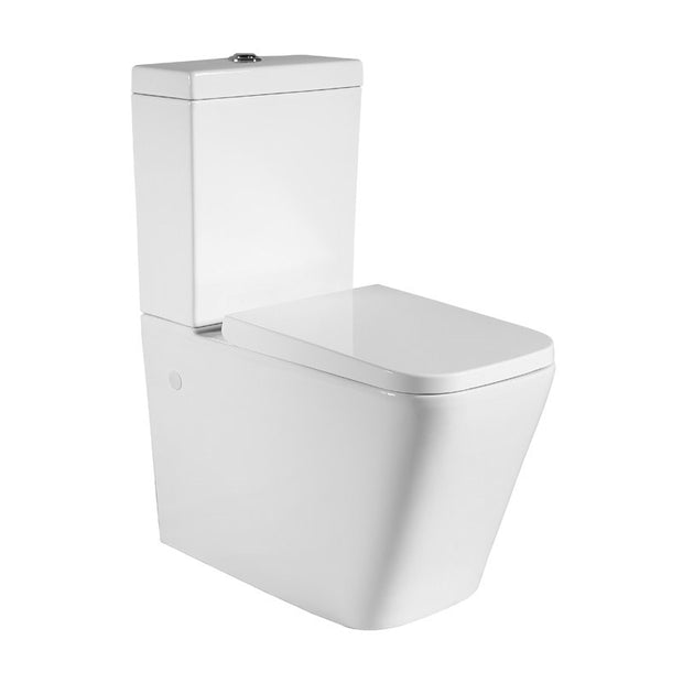 Milano Wall Faced Toilet Suite