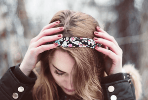 Fashion with a Cause - Headbands for Childhood Cancer Awareness Month