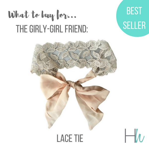 lace tie headbands