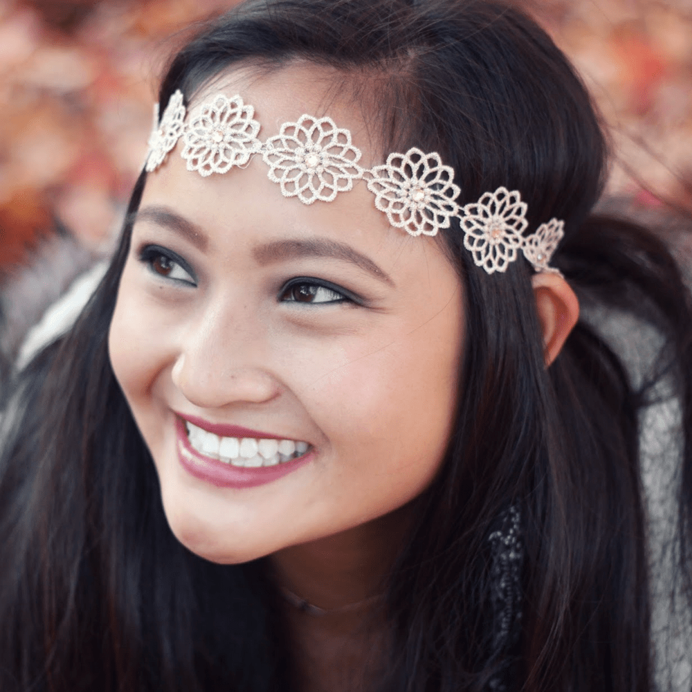 Dainty Golden Flower - Headbands of Hope