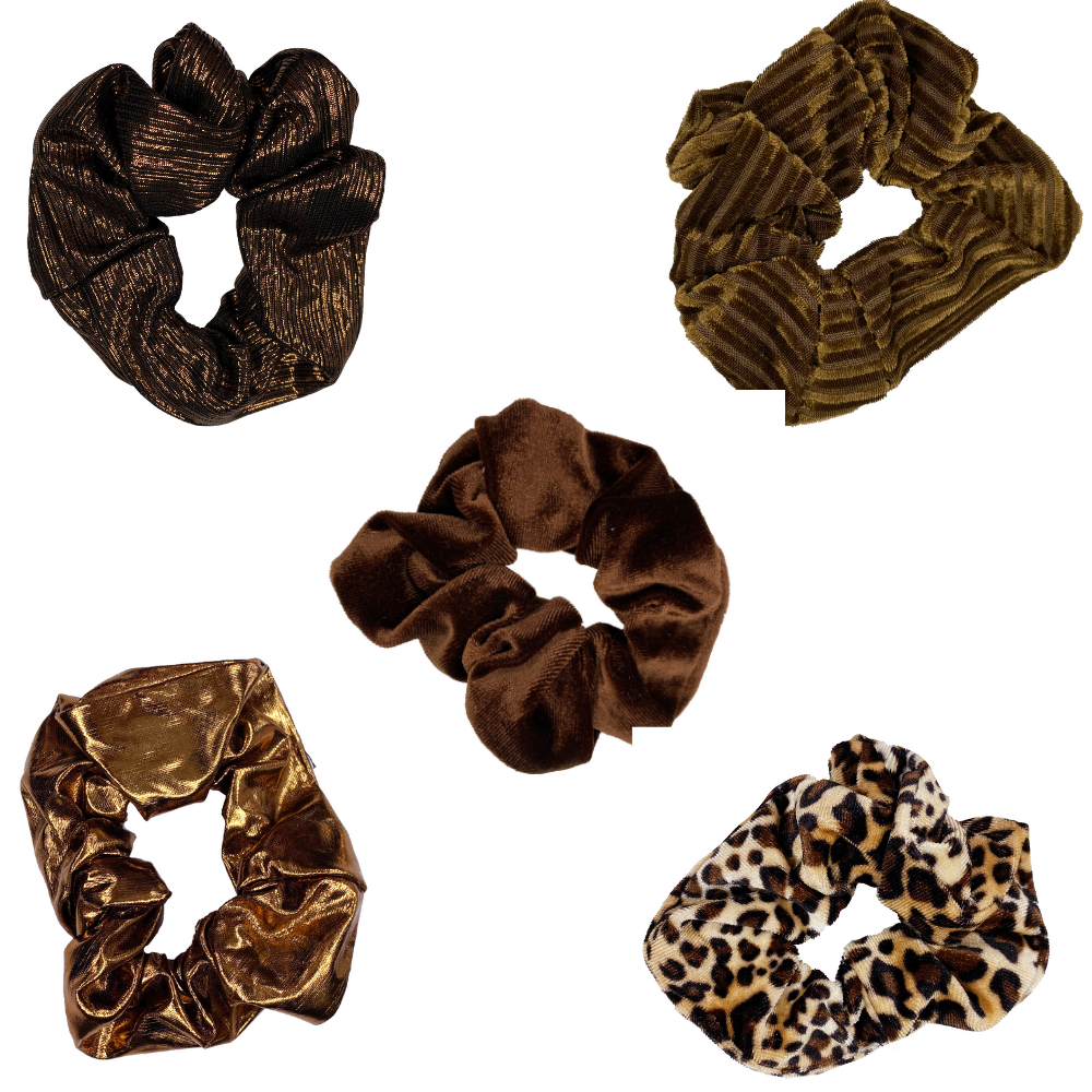 Animal Instinct Scrunchie Set