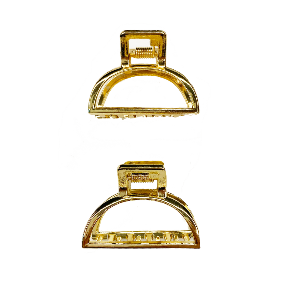 Pretty Gold Jaw Clips