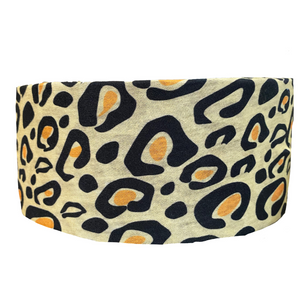 Leopard Tube Turban
