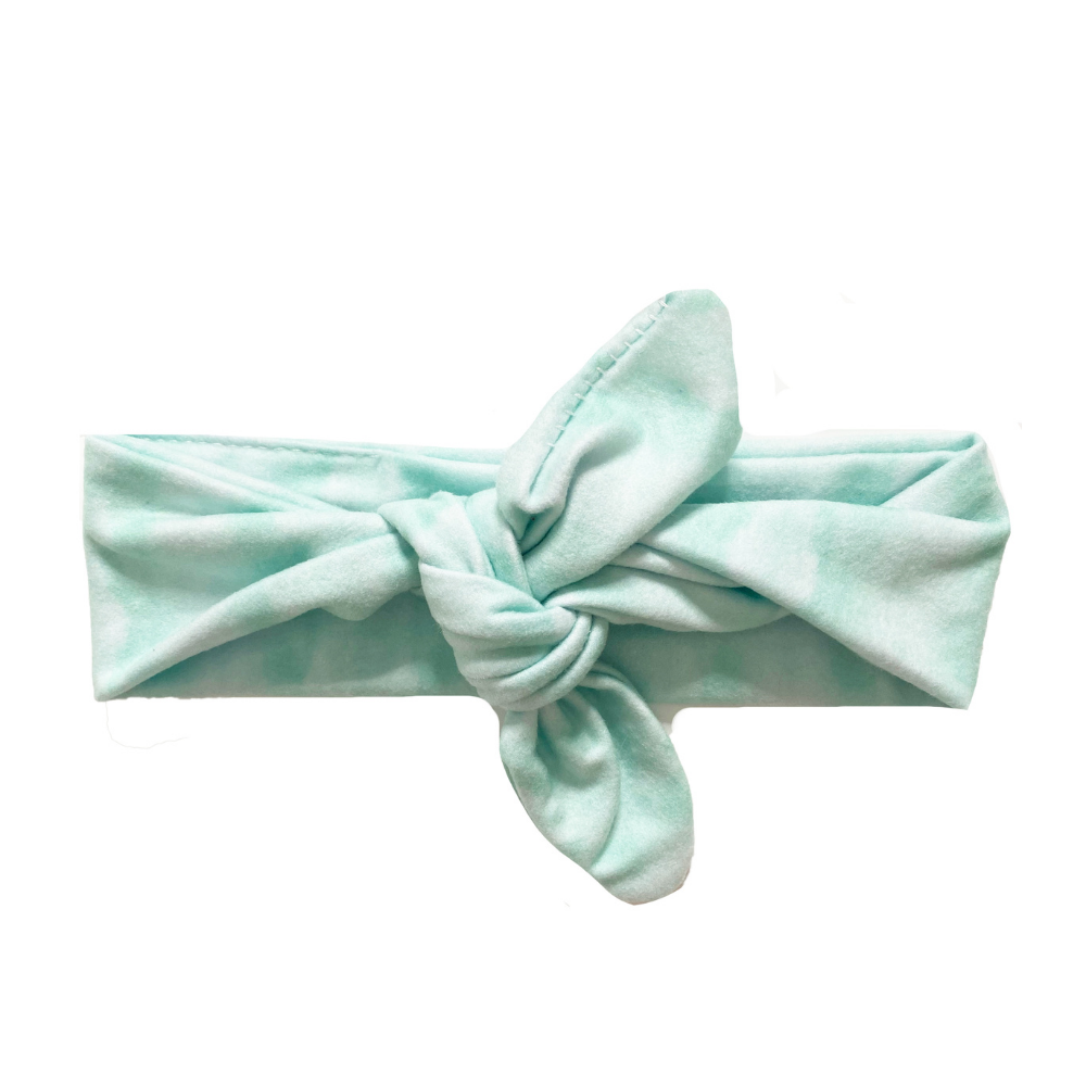 Double Mint Knotted Headband