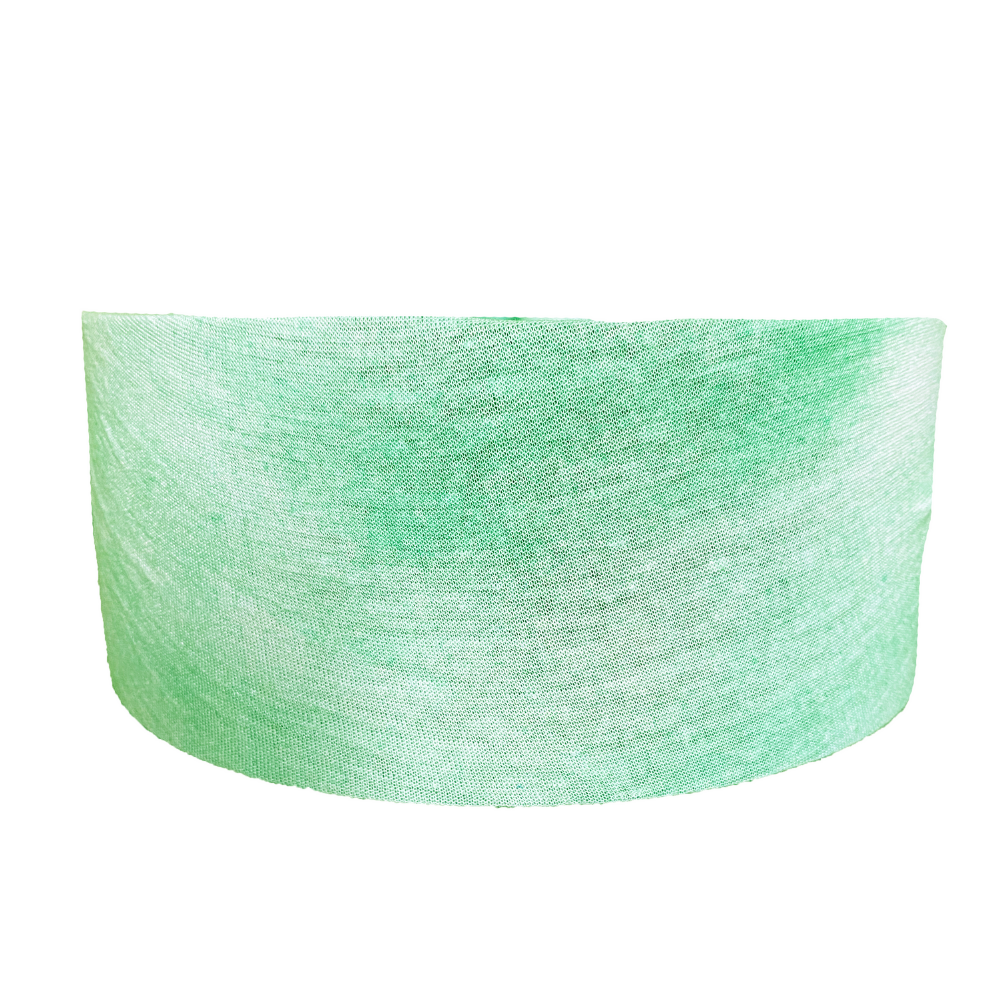 Mint Tie Dye Tube Turban