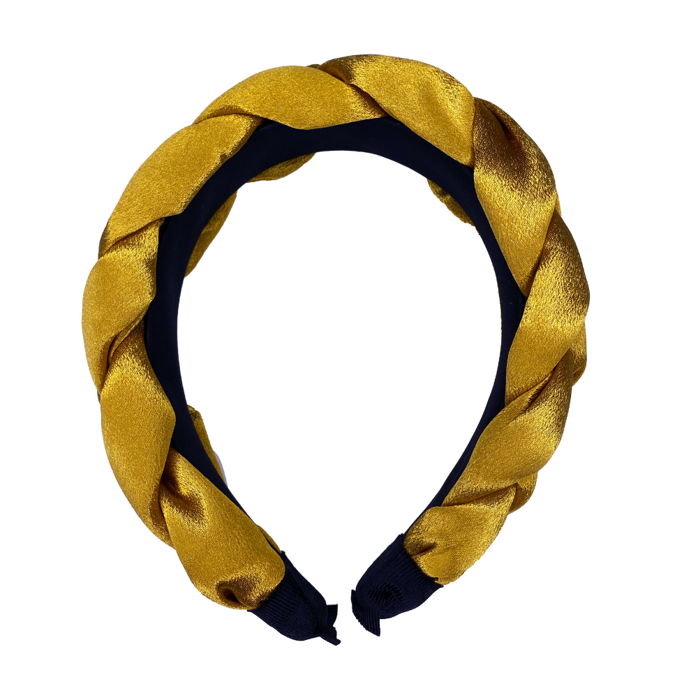 Blair Headband in Mustard