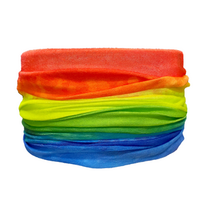 Rainbow Tube Turban