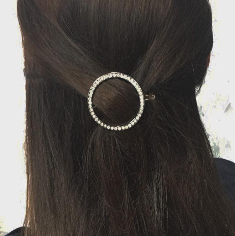 Diamond Circle Hair Clip - Headbands of Hope