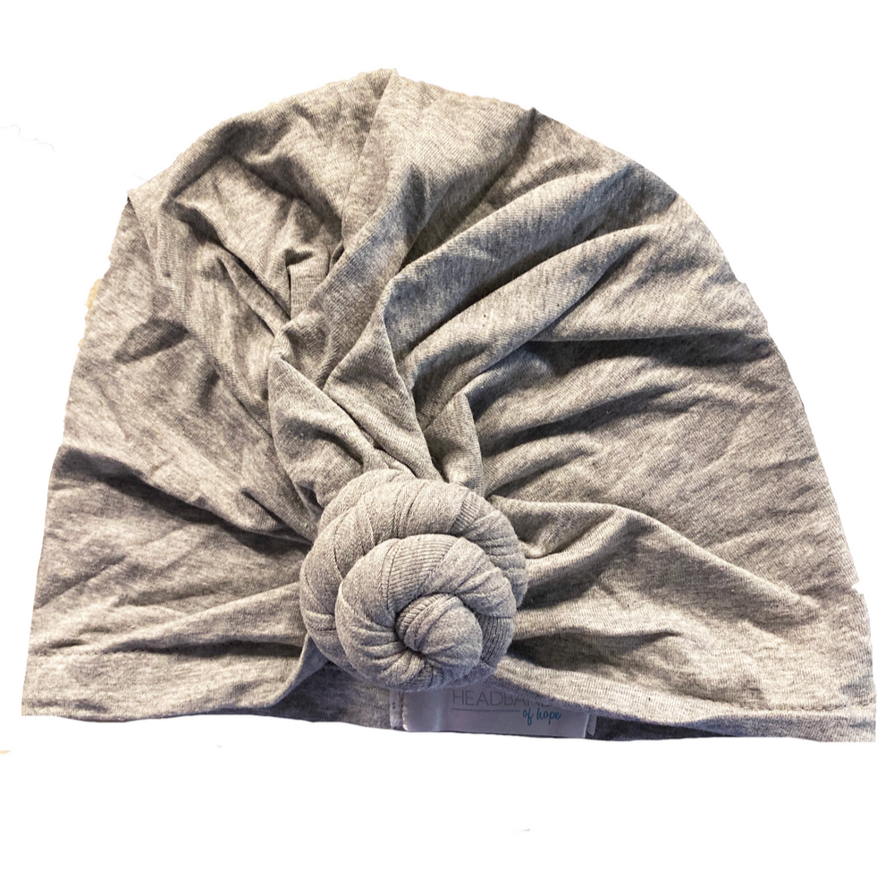 Grey Adult Turban- 4yrs to Adult