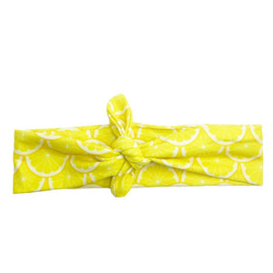 Lemonade Knotted - Headbands of Hope