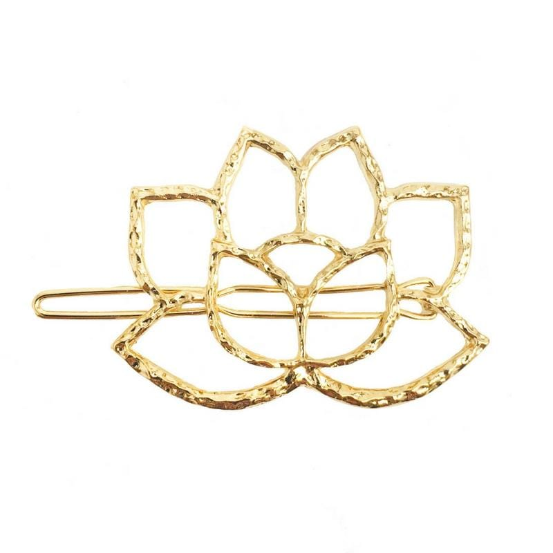 Lotus Flower Hair Clip - Headbands of Hope