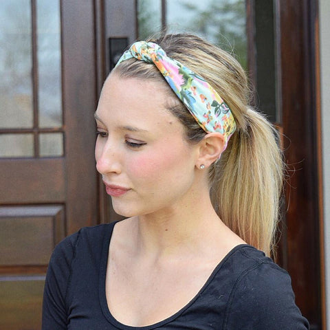 Mint Infinity Turban - Headbands of Hope