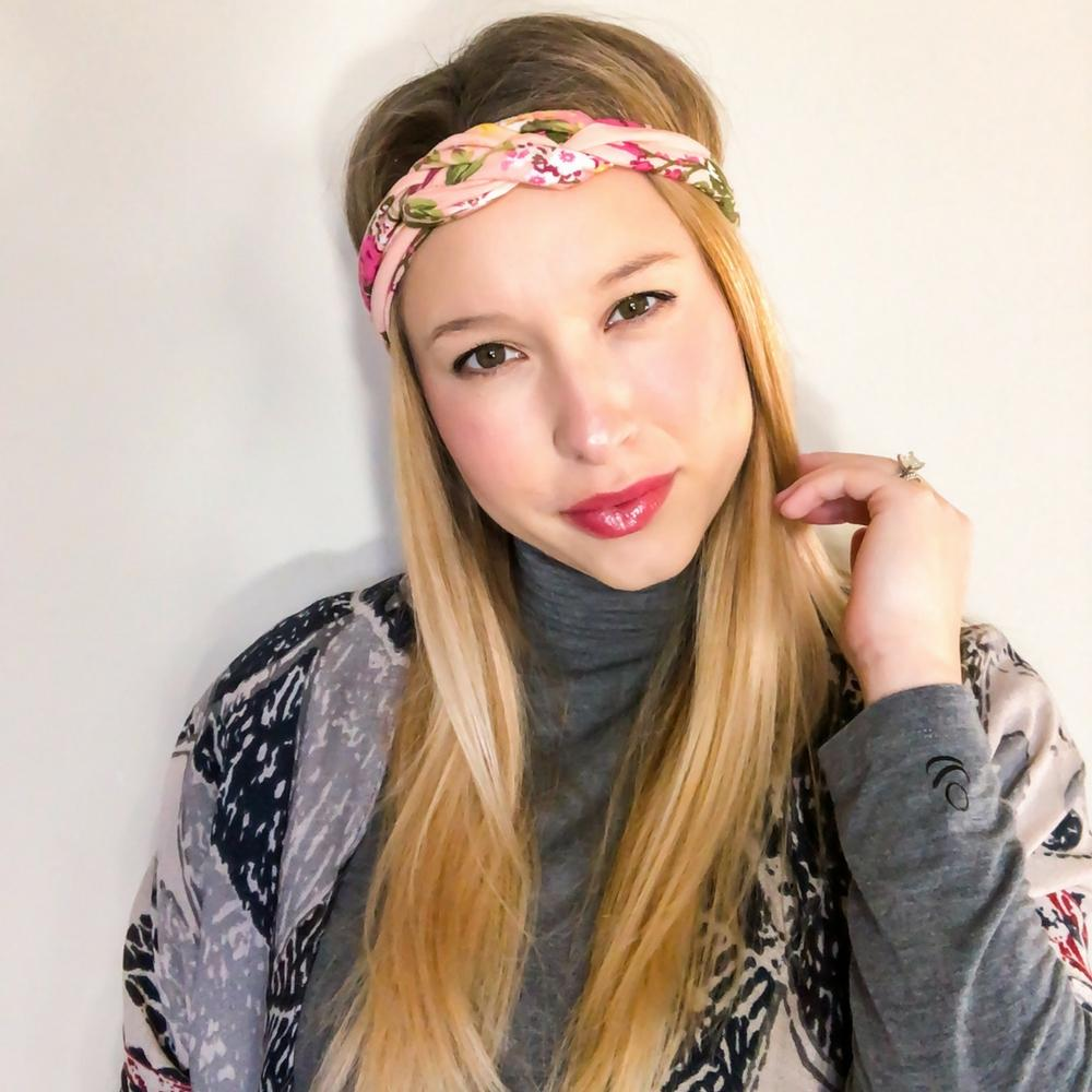 Soft Coral Infinity Turban - Headbands of Hope