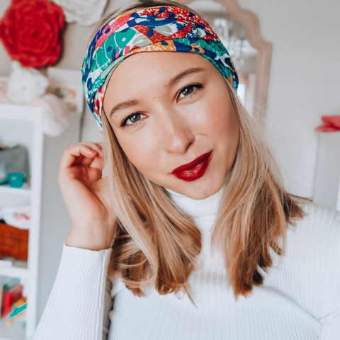 Summer Sea Tube Turban - Headbands of Hope