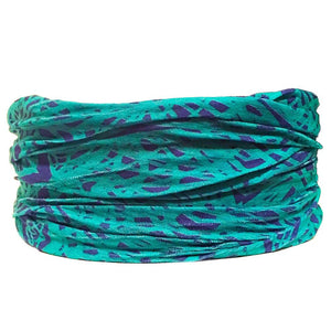 Turquoise Tube Turban - Headbands of Hope