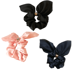Silk Tie Scrunchie Set - Headbands of Hope