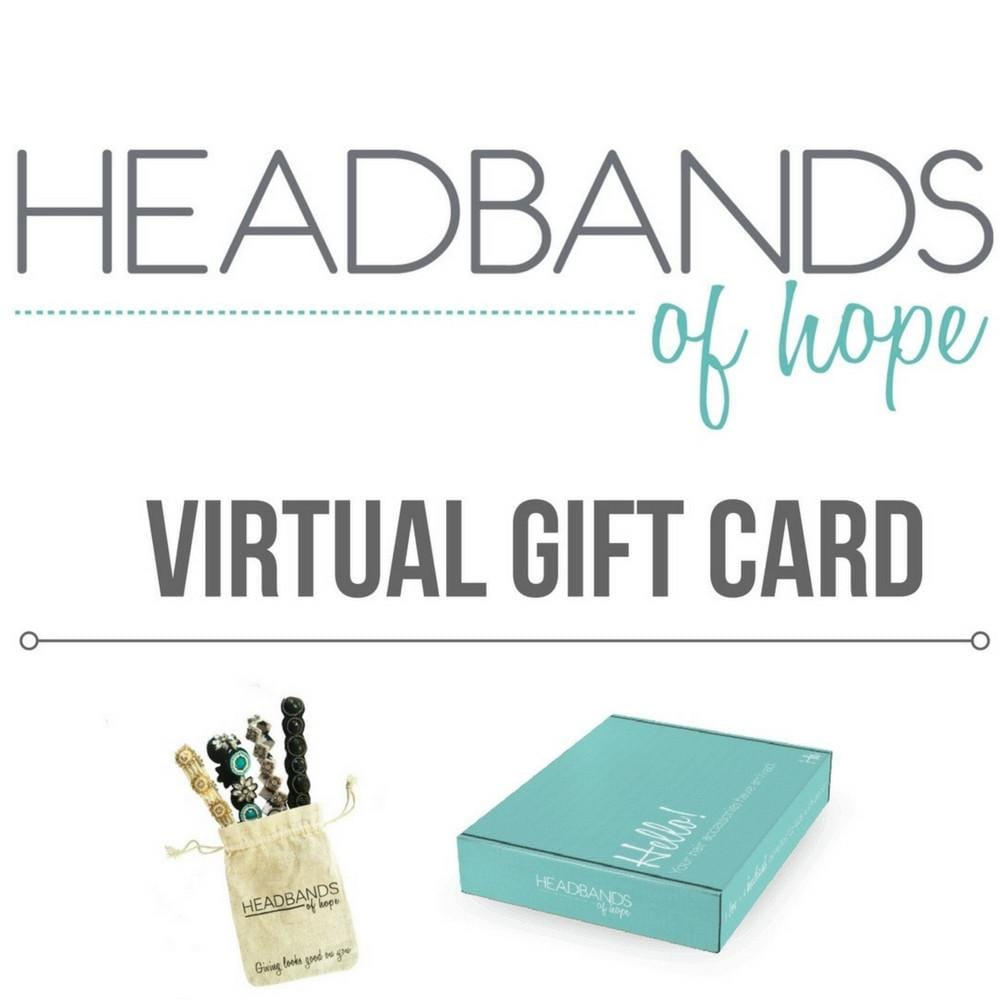 Virtual Gift Card - Headbands of Hope