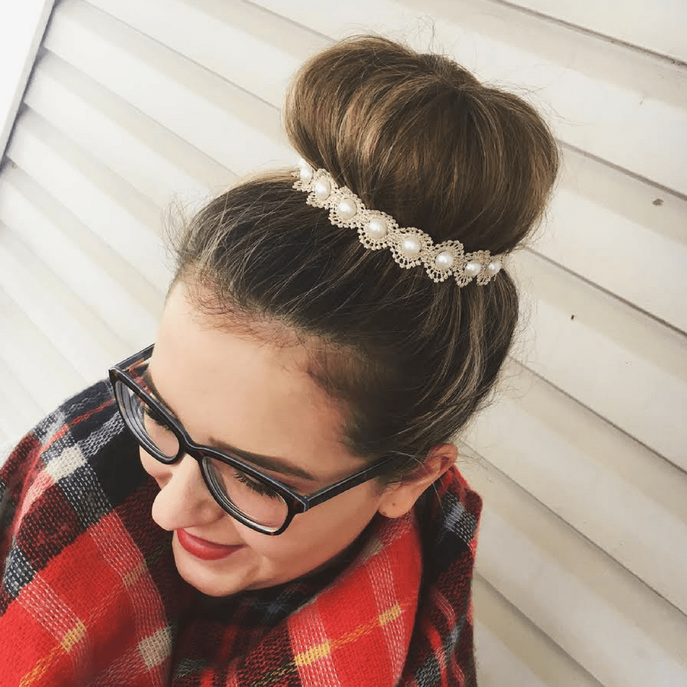 Gold Dainty Pearl - Headbands of Hope