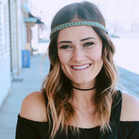 Teal Braid - Headbands of Hope