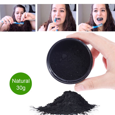 OSHO Teeth Whitening Charcoal Powder Natural Activated Teeth Whitener - Daly Shop