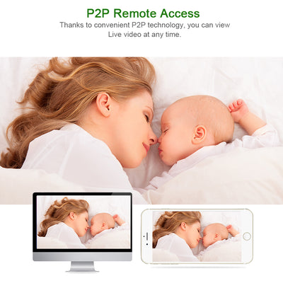 1080P 720P WiFi Home Security Night Vision CCTV Camera Baby Monitor - Daly Shop