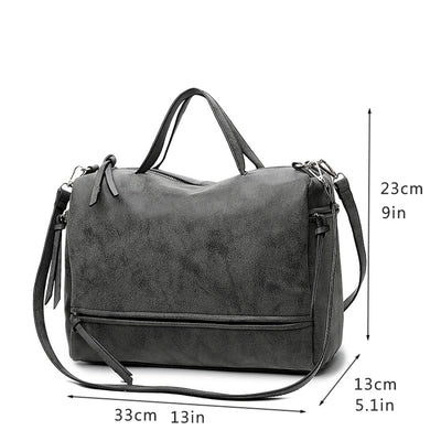Female Shoulder Bag Nubuck Leather Women crossbody handbag - Daly Shop