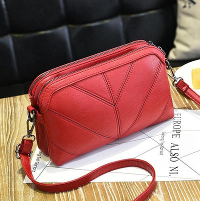Premium Women Handbag Luxury Messenger Bag Soft pu Leather Shoulder Bag - Daly Shop