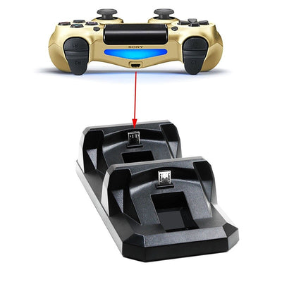 Dual Fast Charging Station Dock Stand for PS4 Controller - Daly Shop