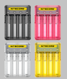Nitecore Q4 Charger - Great Price, Quick Shipping, No Hassle - USA - Wholesome Vapor