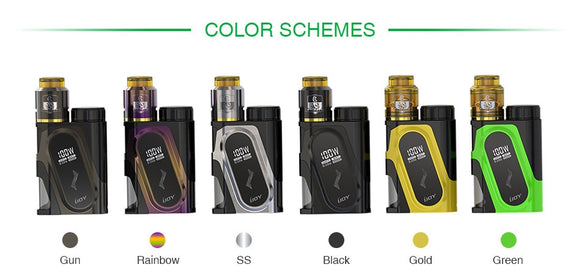 IJOY Capo 100W Squonker + Combo RDA Kit - Great Price, Quick Shipping, No Hassle - USA - Wholesome Vapor