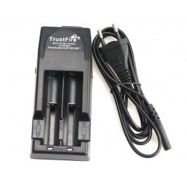 Trustfire Dual Bay Charger - Great Price, Quick Shipping, No Hassle - USA - Wholesome Vapor