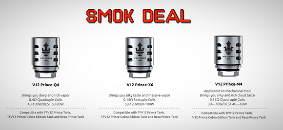 SMOK Deal: 5 Packs of M4/Q4/X6 Coils - Great Price, Quick Shipping, No Hassle - USA - Wholesome Vapor