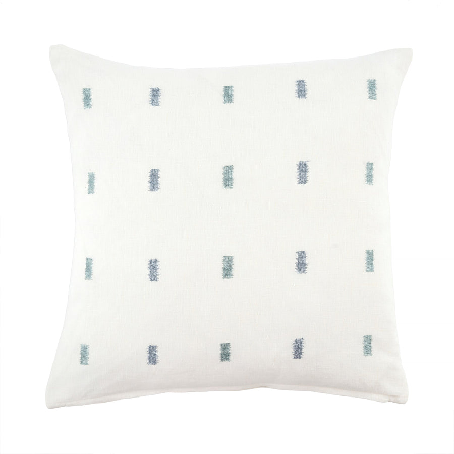 Linen Ikat Stitched Pillow