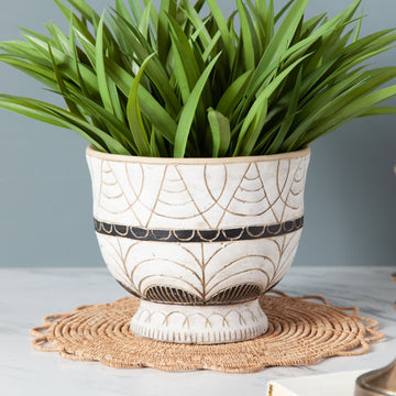Printed Cement Pot
