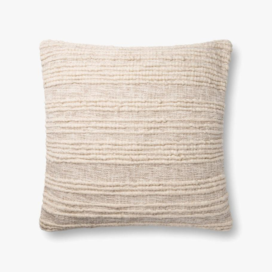 Cream Wool Down Pillow