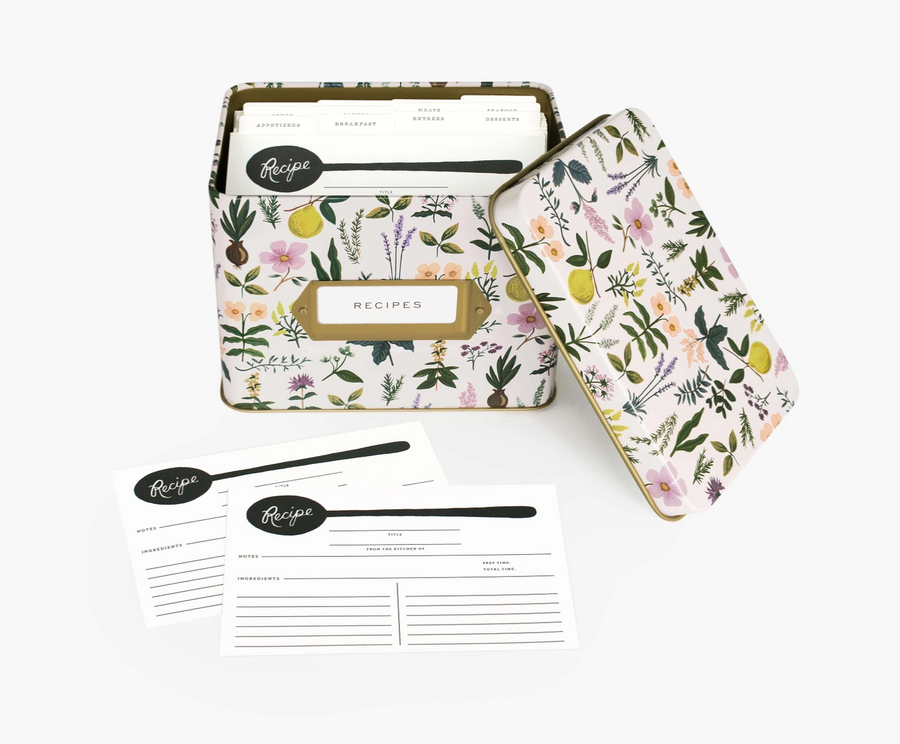 Rifle Paper Recipe Box