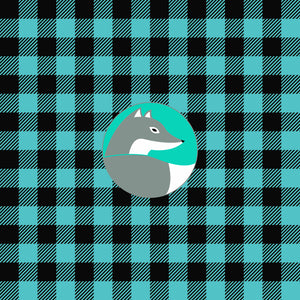Plaid & Dots Pattern Vinyl