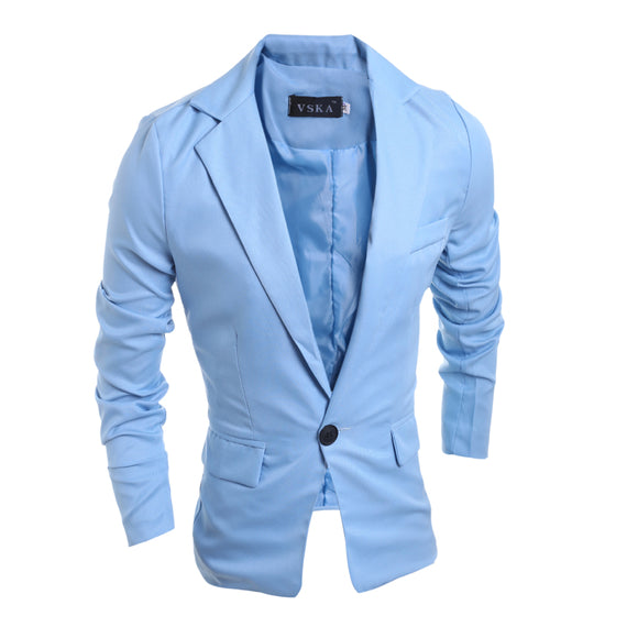the new of Autumn and winter Classic one button multi color casual men's suit