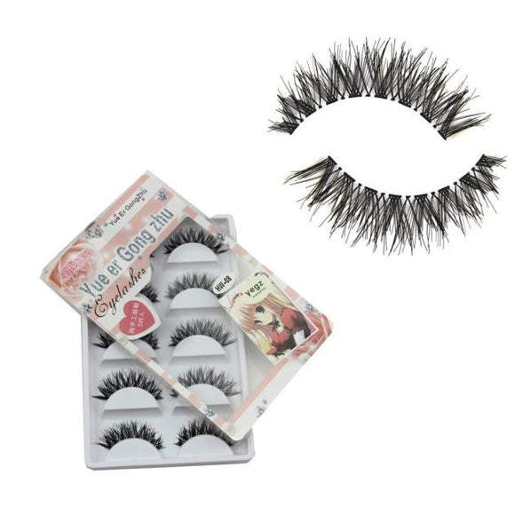 5 Pair/Lot Crisscross False Eyelashes Lashes Voluminous HOT eye lashes