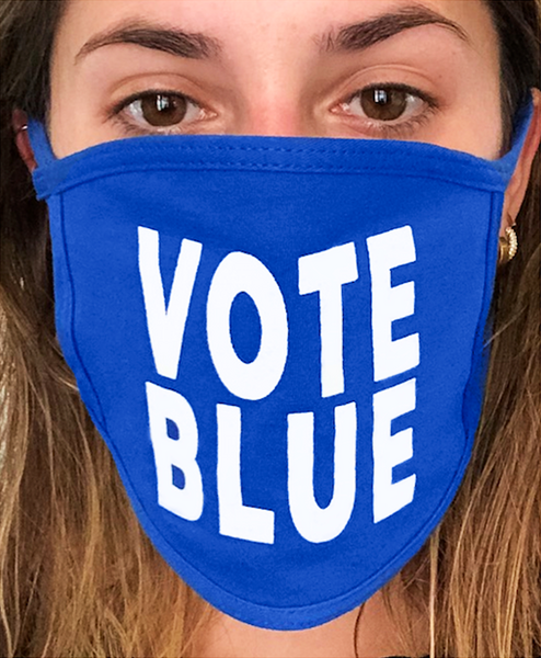 Official Vote Blue Mask™ - 100% Made In The USA