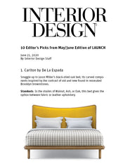 Interior Design Launch Jason Miller Carlton Bed