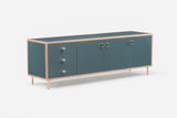 Sideboard - 3 door/3 drawer left hand (052FL)