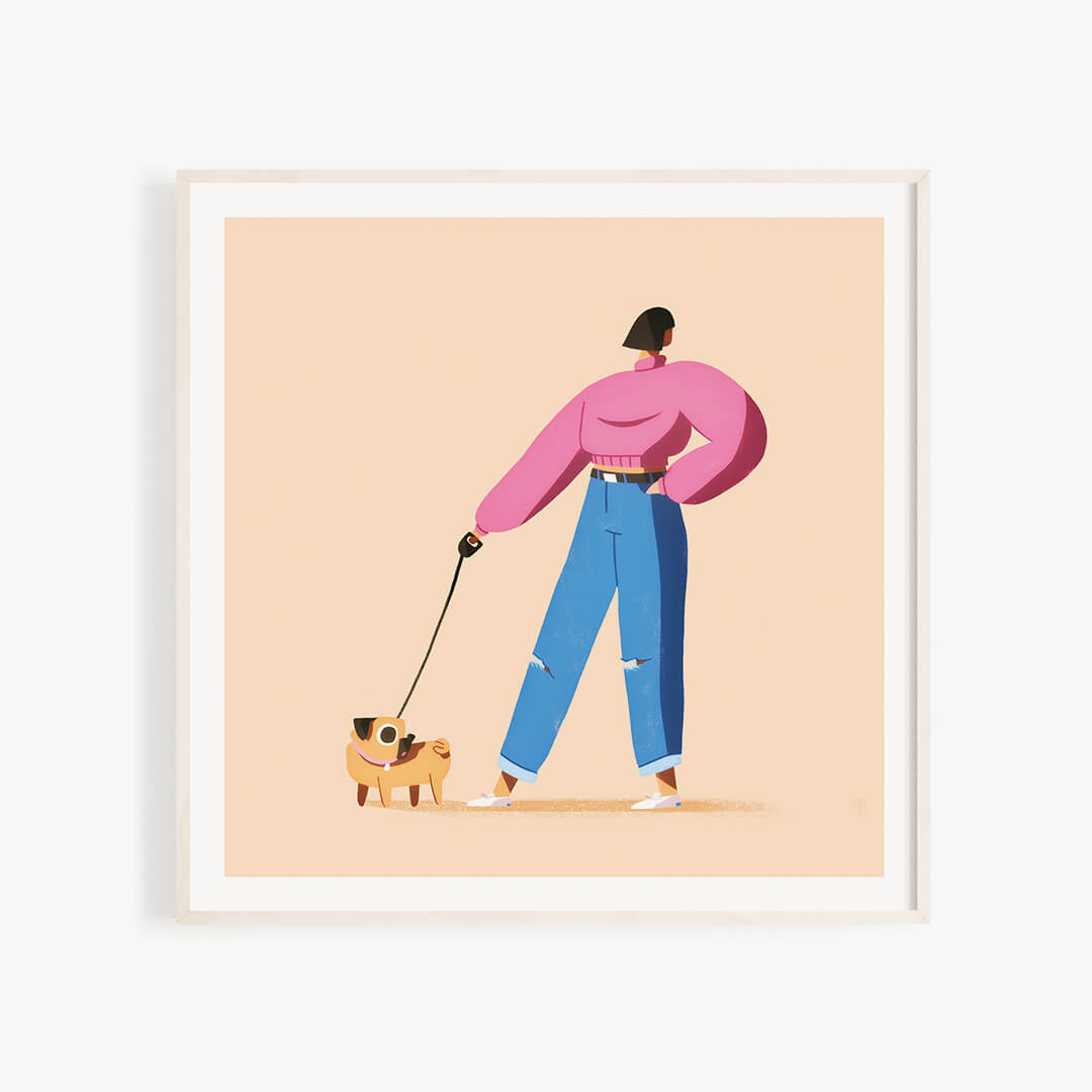 Year of the Dog Walker - Pug