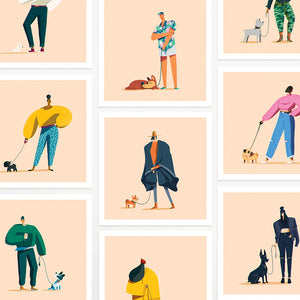Year of the Dog Walker - Complete Set of 10