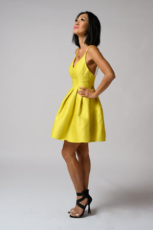 Daisy Dress #Lemon