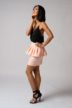 Savannah Skirt #Coral